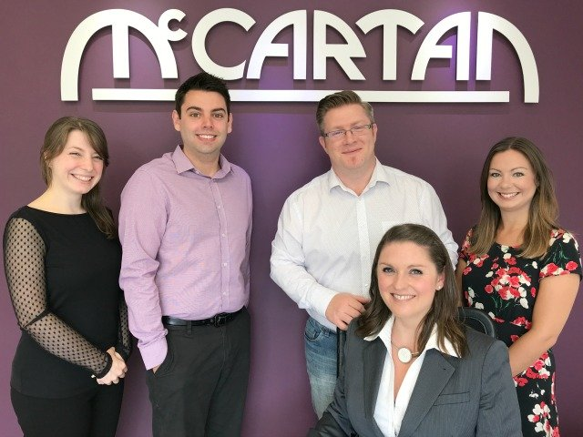 McCartan Team Photo