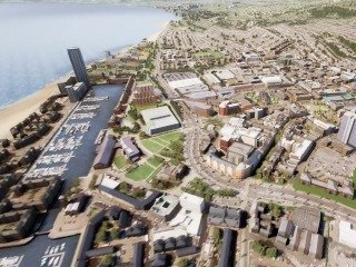PM Theresa May gives go ahead for Swansea Regeneration