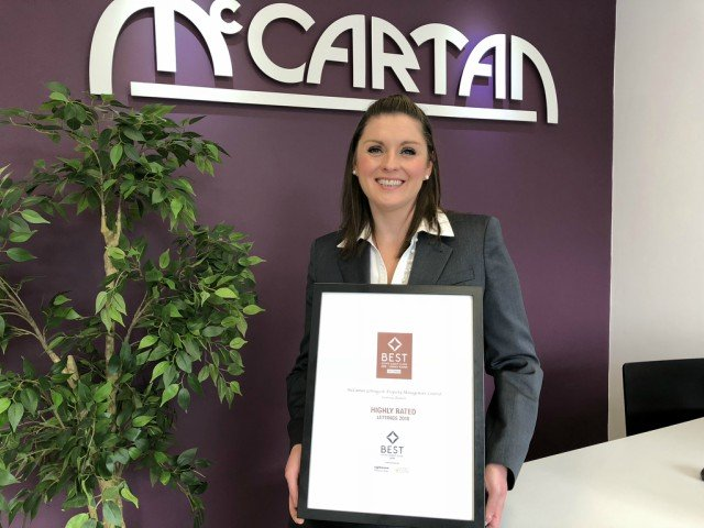 McCartan named in Best Estate Agent Guide 2018